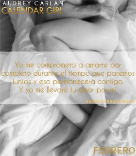 CALENDAR GIRL FEBRERO